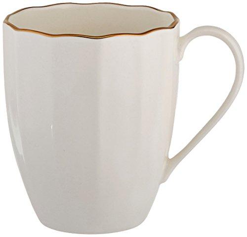 Marchesa Shades of White Mug by Lenox