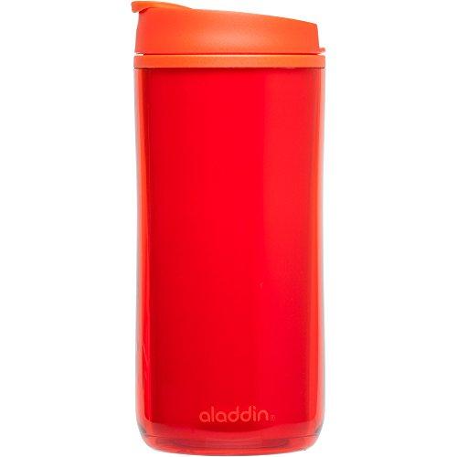Aladdin Insulated Plastic Mug 12oz Tomato