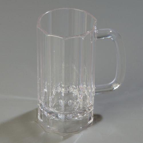 Carlisle 4396507 Lexington Plastic bar Mug Polycarbonate Clear
