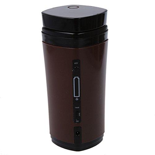TOOGOOR Rechargeable USB Powered Coffee Tea Cup Mug Warmer Automatic Stirring