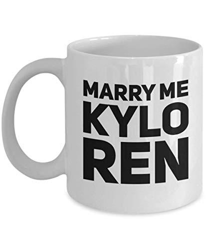 Kylo Ren - Cool Star Wars Gifts for Women - Rey Kylo Ren Ben Solo - New Star Wars Mug - Star Wars Kylo Ren