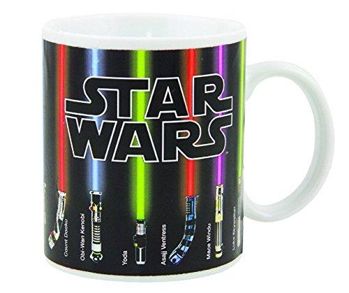 Star Wars Mug Lightsabers Appear With Heat 12 oz
