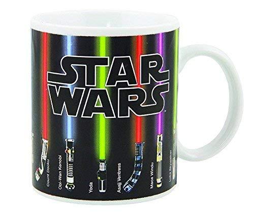 Star Wars Mug Lightsabers Heat - Change Mug The Force Awakens With Heat - 12 oz