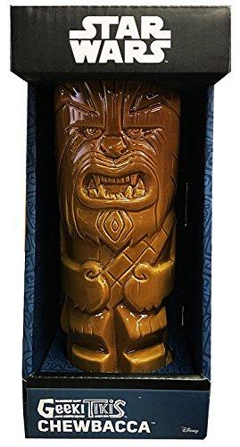 ThinkGeek Geeki Tikis Chewbacca 14-Ounce Ceramic Drinking Mug - Officially-Licensed Star Wars Merchandise