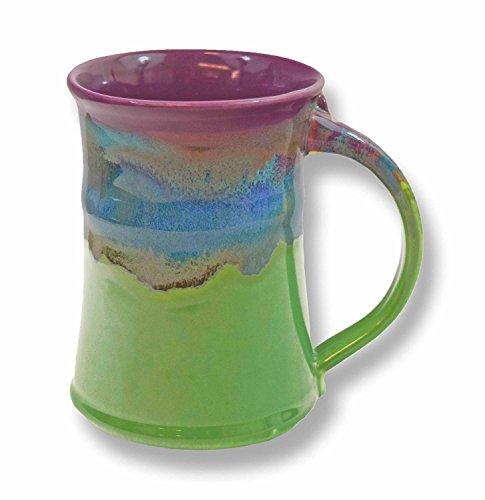 Clay in Motion Handmade Ceramic Large Mug 20oz - Mossy Creek