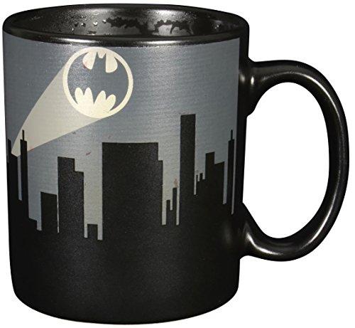 Batman Heat Change Mug Dark Logo United Labels Calici Tazze