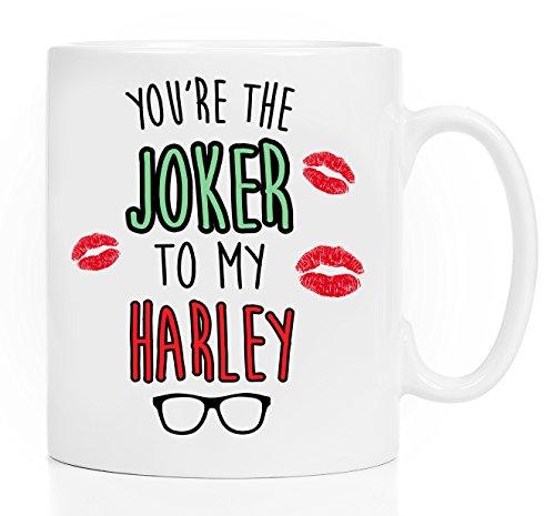 Youre the Joker to my Harley - 11 oz mug - Suicide Squad Inspired Mug - Harley Quinn Mug - GIFT for HIM - Comic Book Mug - Geeky Mug For Him - Geek Mug For Boyfriend - Joker Batman Mug