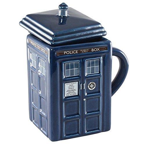 LANDUSA Ceramic Doctor Who Tardis 17Oz Figural Dr Mug