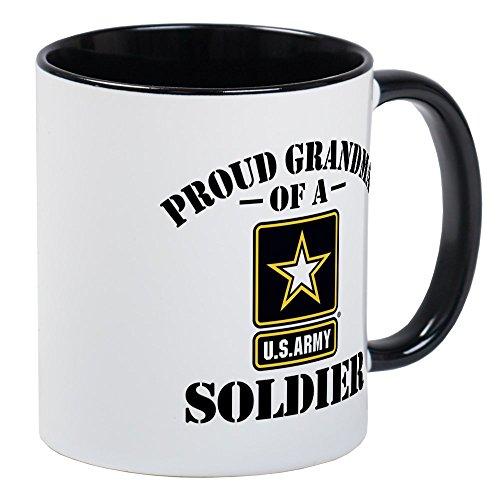 CafePress - Proud US Army Grandma Mug - Unique Coffee Mug Coffee Cup