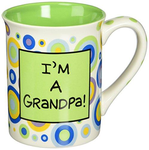Enesco 4029374 Our Name Is Mud by Lorrie Veasey Im A Grandpa Mug 4-12-Inch
