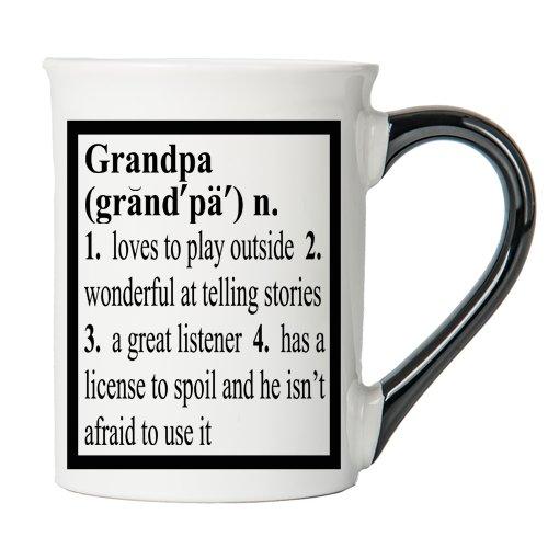 Grandpa Mug Grandpa Coffee Cup Ceramic Grandpa Mug Fathers Day Gift By Tumbleweed