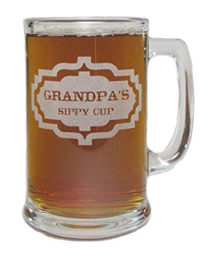 Grandpas 15oz Beer Mug with Handle