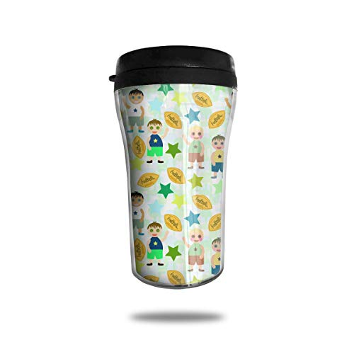 CZJAHBL Christmas Children Pattern Travel Coffee Mug Delicate Printing Portable Vacuum CupFood Grade ABS Insulated Cup Anti-Spill88 OZ