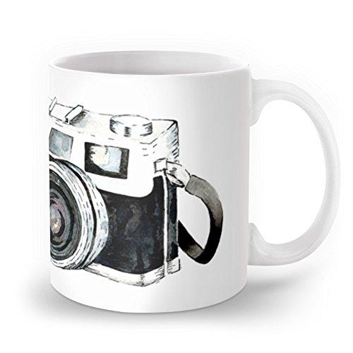 Society6 Vintage Camera Mug 11 oz