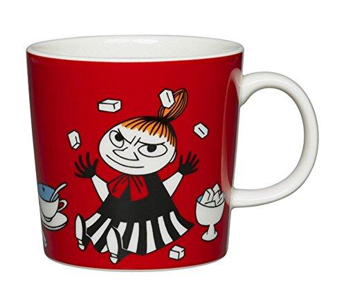 ARABIA Ceramic Moomin Mug Cup 10 floz - Little My Red