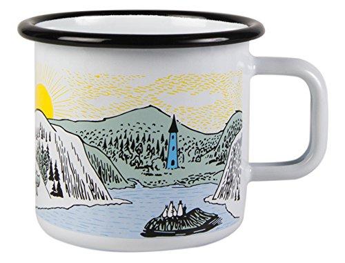 Moomin Mellow Wind Enamel Mug 37 dl Muurla