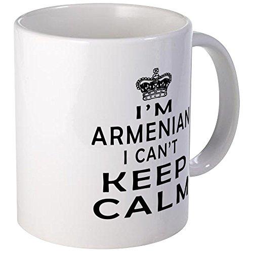 CafePress I Am Armenian I Can Not Keep Calm Mug Unique Coffee Mug Coffee Cup