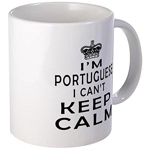 CafePress I Am Portuguese I Can Not Keep Calm Mug Unique Coffee Mug Coffee Cup
