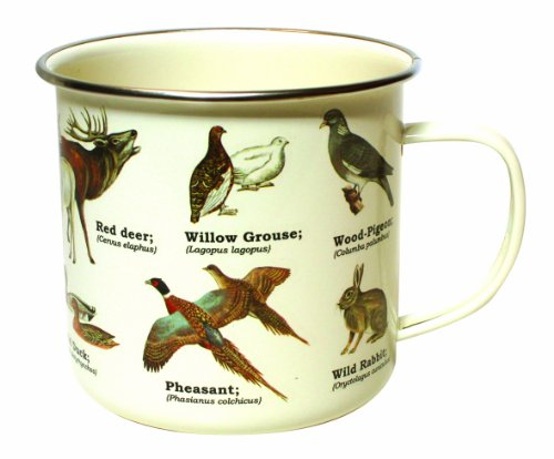 Gift Republic GR270072 Wild Animals Dishwasher Safe Enamel Mug