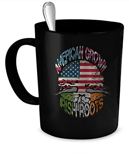 Irish Coffee Mug Irish gift 11 oz black