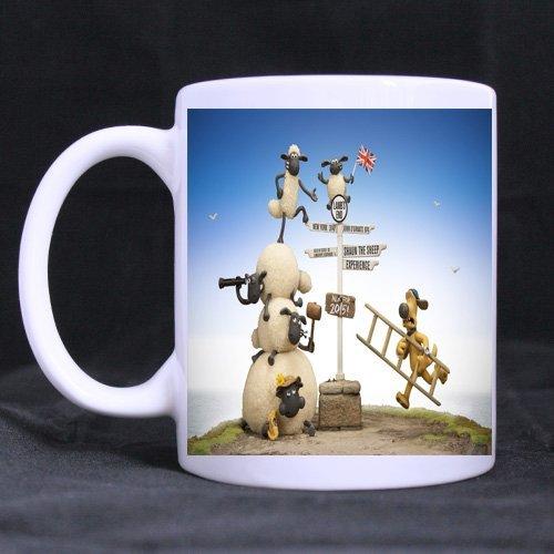 Fashion-home Shaun the Sheep Printed cup Custom Unique design mug by Home Fashion