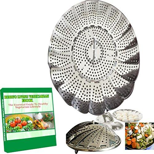Vegetable Steamer Basket For Pot. Best Fordable Black Decker Stainless Steel Steaming Tool Fruit And Veggies Insert