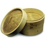 Bamboo Steamer Basket 10.5 In.
