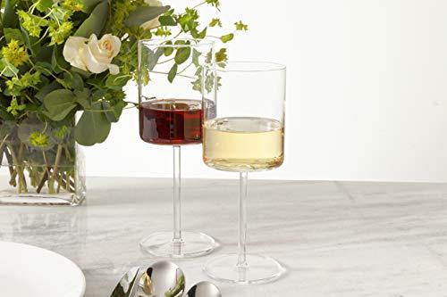 Schott Zwiesel 0074119899 Tritan Crystal Modo Stemware  Red Wine Glasses 149-Ounce Clear Pack of 4