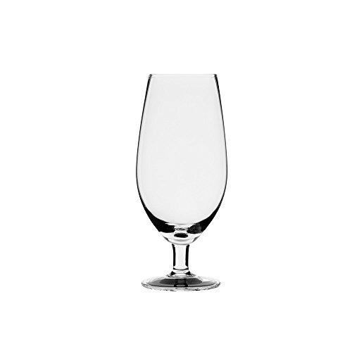 10 Strawberry Street Regina 12 Oz BeerWater Goblet Set of 4 Clear Glass