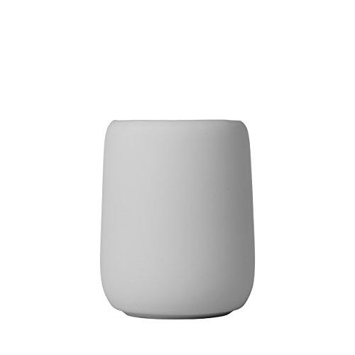 Blomus 69066 SONO Toothbrush Holder Bathroom Tumbler Cup Color-Microchip Light Gray