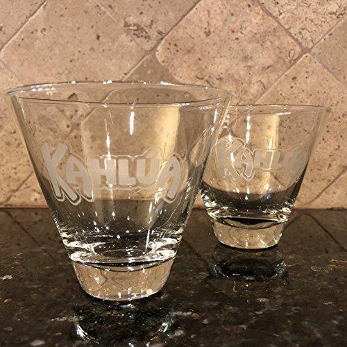 Kahlua Stemless Martini Glasses Set of 2