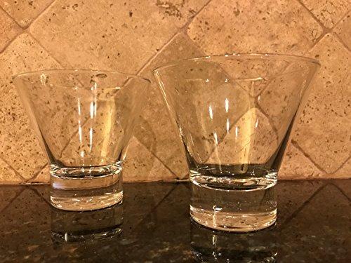 Stoli Stemless Martini Glasses Set of 2