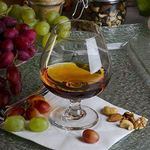 Libbey 3708 Embassy 175 oz Brandy Glass SET OF 6 w HHS Party Picks