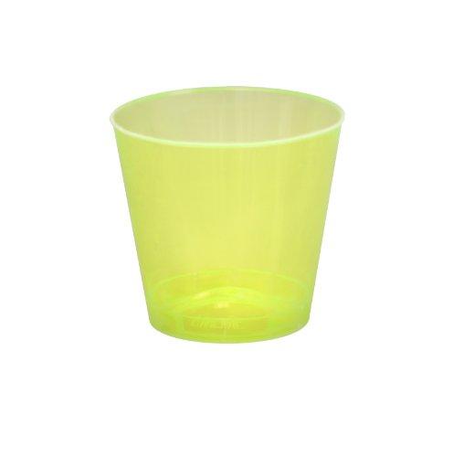 Fineline 1 oz Shot Glass Case of 2500 50 x 50 Yellow