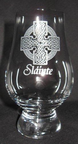 OFFICIAL GLENCAIRN SLAINTE CELTIC CROSS SINGLE MALT SCOTCH WHISKY TASTING GLASS