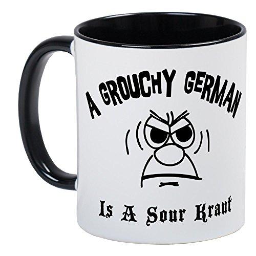 CafePress - Grouchy German Mug - Unique Coffee Mug Coffee Cup