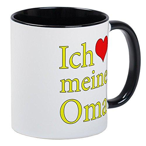 CafePress - I Love Grandma German Mug - Unique Coffee Mug Coffee Cup