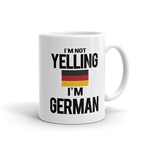 Not Yelling Im German Mug German Gift Gift for German German Flag Deutsch Deutschland Funny Mug Cool Mug Cool Gift Funny Gift