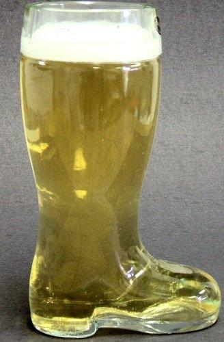 Medium 17 Ounce 5 Liter German Glass Beer Boot
