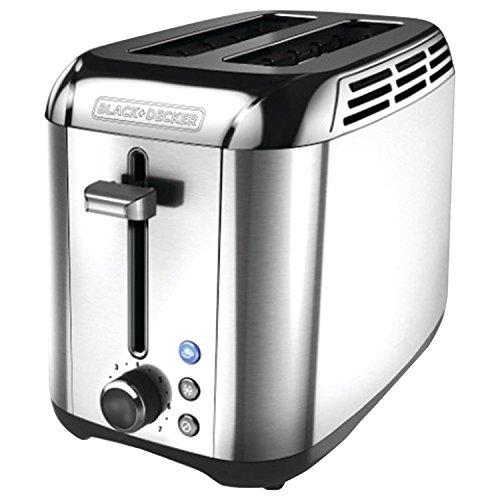 Black+decker Tr3500sd Rapid Toast 2-slice Toaster, Silver
