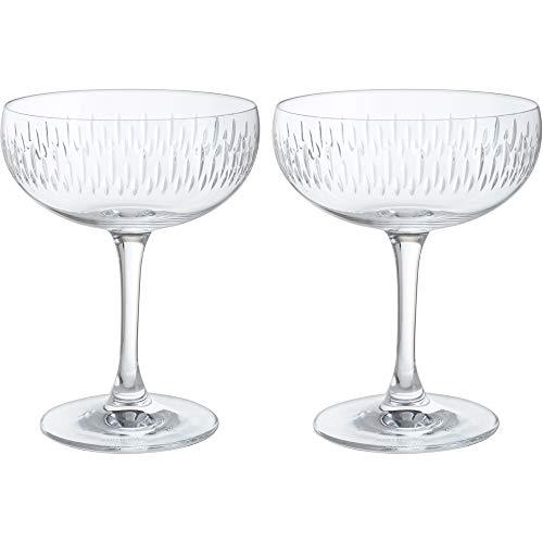 Dartington Crystal Champagne Saucer usone Size Clear