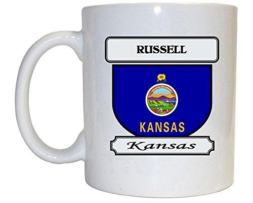 Russell Kansas KS City Mug