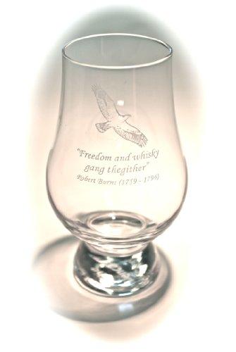 Glencairn Crystal Whisky Glass - Robert Burns Quote