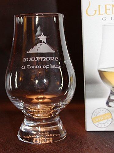 BOWMORE PAGODA TOP GLENCAIRN SINGLE MALT SCOTCH WHISKY TASTING GLASS