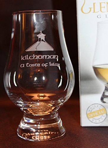 KILCHOMAN PAGODA TOP GLENCAIRN SINGLE MALT SCOTCH WHISKY TASTING GLASS