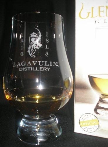 LAGAVULIN RAMPANT LION DISTILLERY LOGO GLENCAIRN SINGLE MALT SCOTCH WHISKY TASTING GLASS