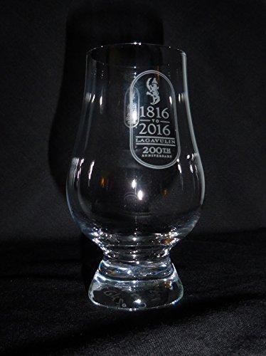LAGAVULIN RAMPANT LION LOGO GLENCAIRN SINGLE MALT SCOTCH WHISKY TASTING GLASS