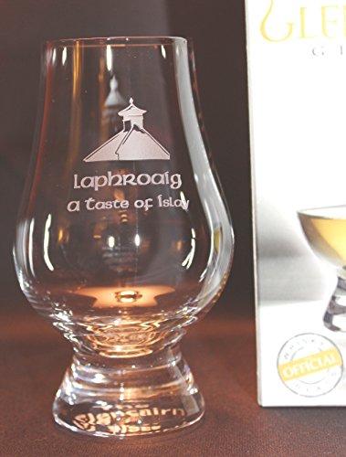 LAPHROAIG PAGODA TOP GLENCAIRN SINGLE MALT SCOTCH WHISKY TASTING GLASS