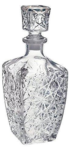 Liquor Bottle Decanter with Stopper Glass 750ML