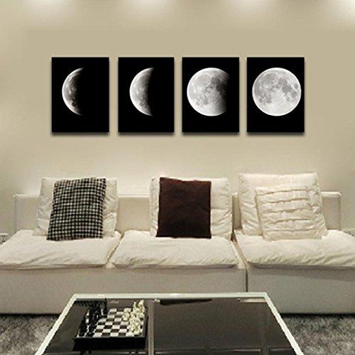 Transer Modern Artwork Wall Art Painting Canvas Painting Wall Paintings Decorative Paintings For Living Room Bedroom - 1181 x 1575 inch - 4PCS Multicolor
